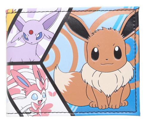 Pokemon Eevee Evolutions Panel Bifold Exclusive Wallet