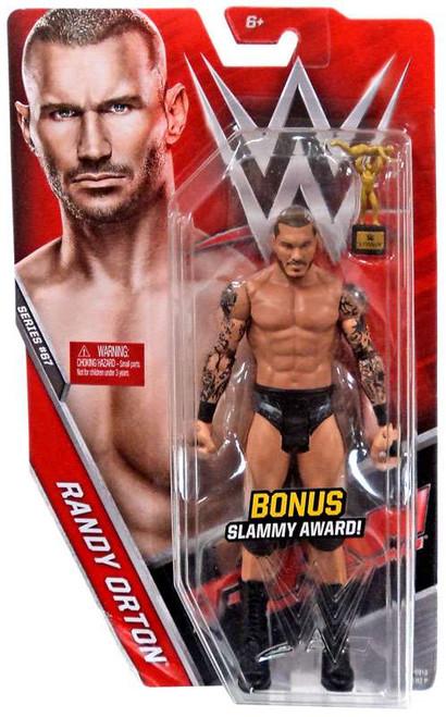WWE Wrestling Series 67 Randy Orton Action Figure [Bonus Slammy Award]