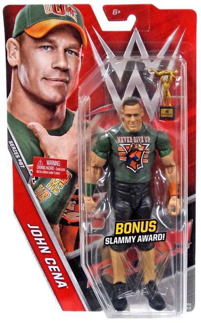 WWE Wrestling Series 67 John Cena Action Figure [Bonus Slammy Award]