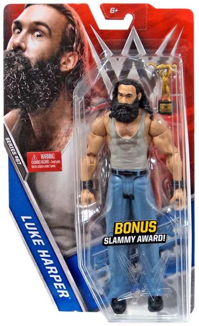 WWE Wrestling Series 67 Luke Harper Action Figure [Bonus Slammy Award]