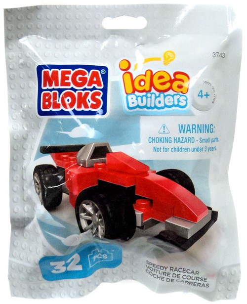 Mega Bloks Idea Builders Speedy Racecar Set #03743