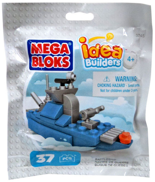 Mega Bloks Idea Builders Battleship Set #03745