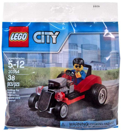 LEGO City Hot Rod Mini Set #30354 [Bagged]