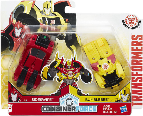 Transformers Robots in Disguise Bumblebee & Sideswipe Action Figure [Crash Combiner]