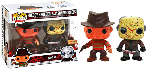 Funko POP! Movies Freddy Krueger & Jason Voorhees Exclusive Vinyl Figure 2-Pack