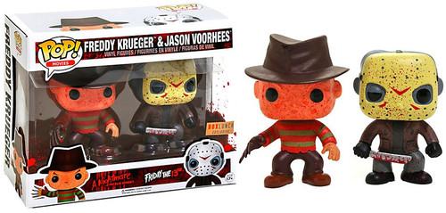 Funko POP! Movies Freddy Krueger & Jason Voorhees Exclusive Vinyl Figure 2-Pack