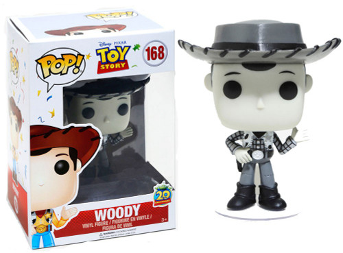 Funko Disney / Pixar Toy Story POP! Woody Exclusive Vinyl Figure #168