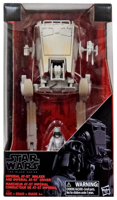 Star Wars Imperial AT-ST Walker & Driver Exclusive 3.75-Inch Vehicle
