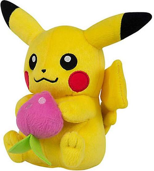Pokemon Pikachu with Pecha Berry 8-Inch Plush