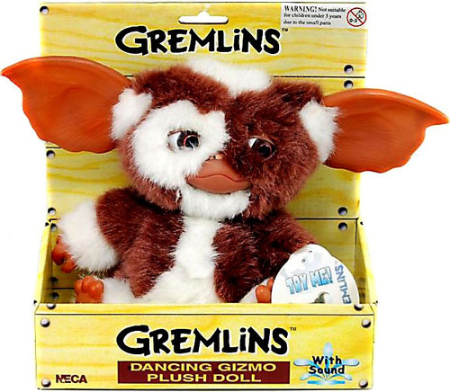 NECA Gremlins Gizmo 8-Inch Plush [Dancing / Singing]