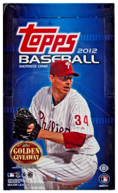 MLB Topps 2012 Series One Trading Card HOBBY Box [36 Packs]