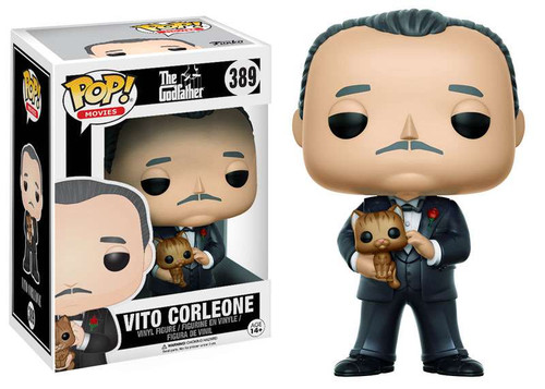 Funko The Godfather POP! Movies Vito Corleone Vinyl Figure #389