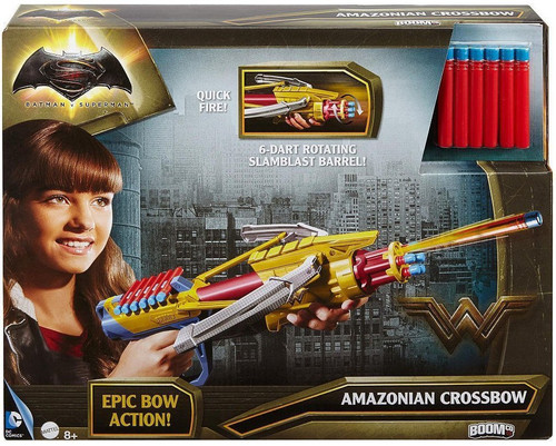 DC Batman v Superman Wonder Woman Amazonian Crossbow Roleplay Toy