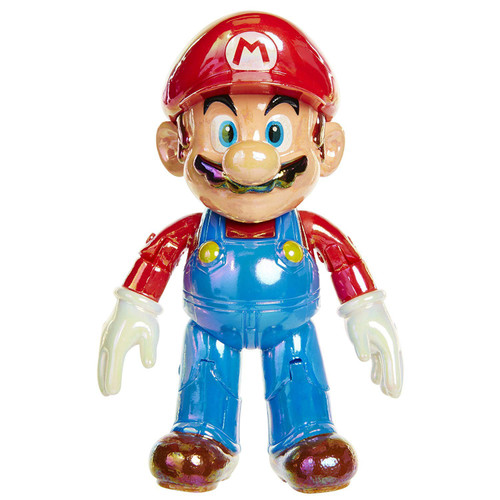 World of Nintendo Classic Mario with Super Star Action Figure
