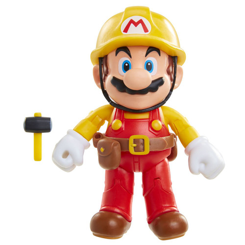 World of Nintendo Mario Maker with Utility Belt Action Figure