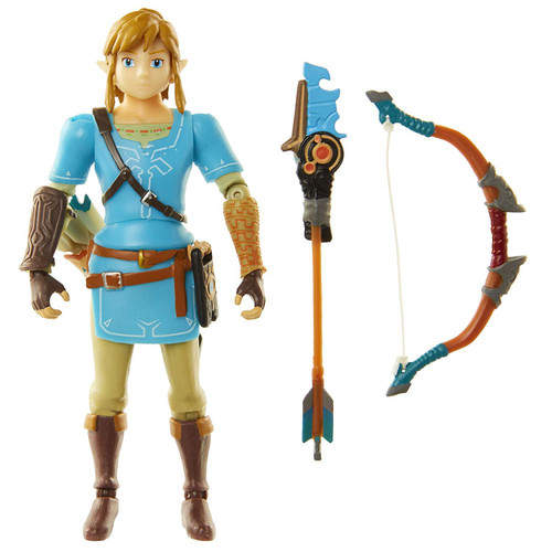 World of Nintendo Breath of the Wild Link Action Figure