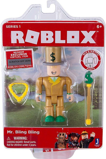 Roblox Mr. Bling Bling Action Figure