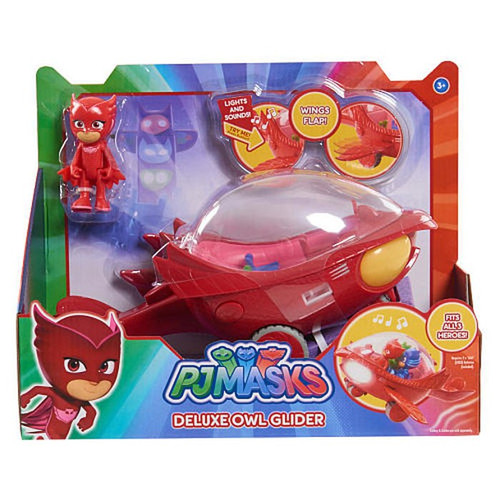 Disney Junior PJ Masks Deluxe Owl Glider Vehicle & Figure