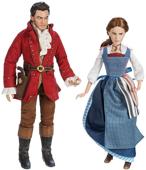 Disney Princess Beauty and the Beast Film Collection Belle & Gaston Exclusive Doll 2-Pack