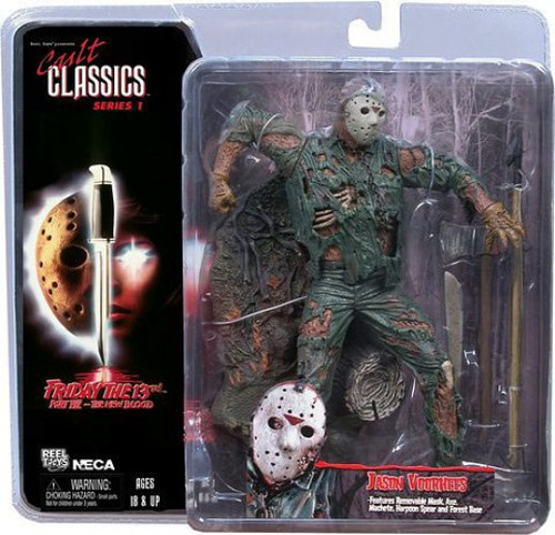 NECA Friday the 13th Part VII The New Blood Cult Classics Series 1 Jason Voorhees Action Figure