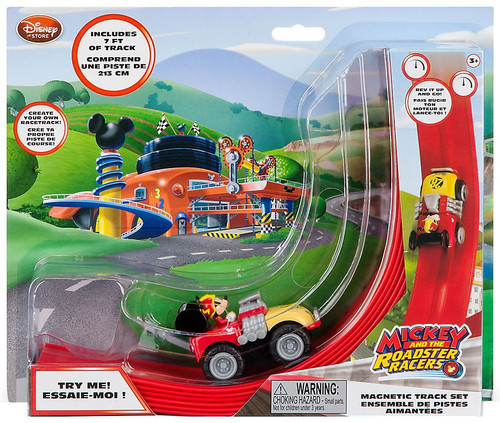 Disney Mickey & Roadster Racers Magnetic Exclusive Track Set
