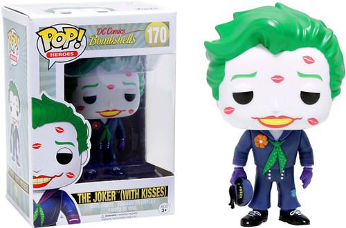 Funko DC Bombshells POP! Heroes The Joker With Kisses Exclusive Vinyl Figure #170 [Regular]
