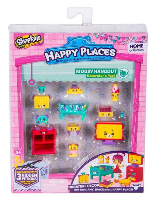Shopkins Happy Places Series 2 Mousy Hangout Decorator's Pack