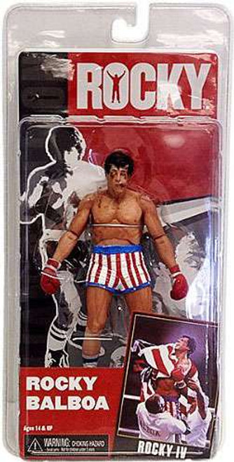 NECA Rocky IV Series 2 Rocky Balboa Action Figure [Post Fight, Damaged Package]