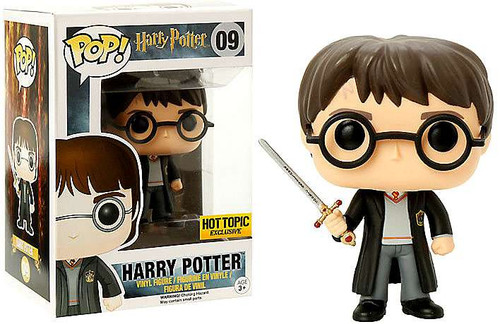 Funko POP! Movies Harry Potter Exclusive Vinyl Figure #09 [With Sword Of Gryffindor, Damaged Package]