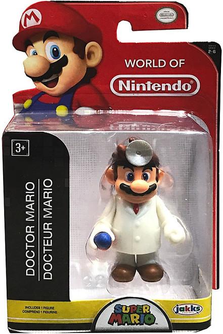 World of Nintendo Doctor Mario 2.5-Inch Mini Figure