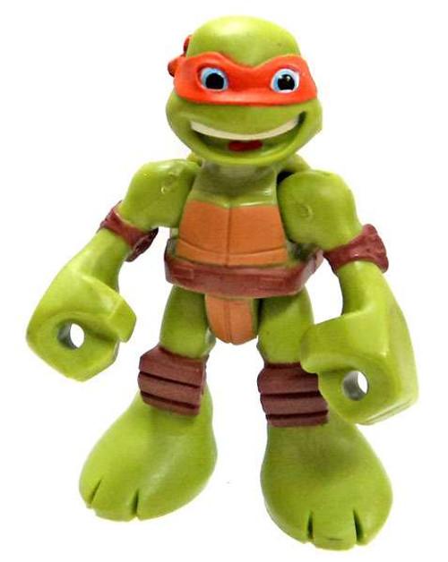 Teenage Mutant Ninja Turtles TMNT Half Shell Heroes Michelangelo Action Figure [Loose]