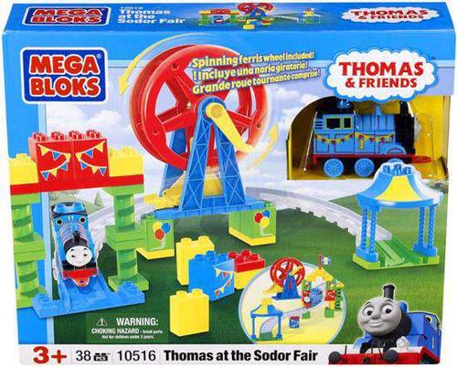 Mega Bloks Thomas & Friends Thomas at the Sodor Fair Set #10516 [Damaged Package]