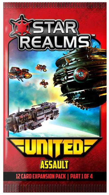 Star Realms United Assault Deckbuilding Game Pack #1 of 4