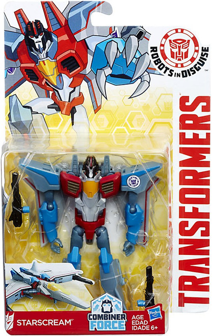 Transformers Robots in Disguise Starscream Warrior Action Figure