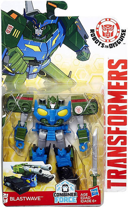 Transformers Robots in Disguise Blastwave Warrior Action Figure