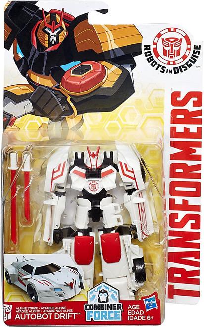 Transformers Robots in Disguise Alpine Strike Autobot Drift Warrior Action Figure
