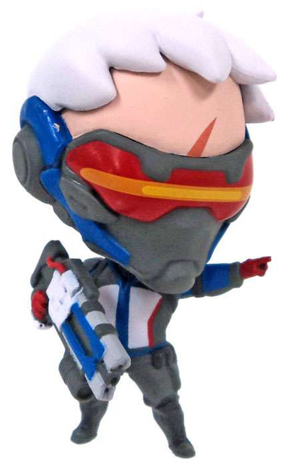 Cute But Deadly Overwatch Series 2 Soldier 76 PVC Figure [Loose]