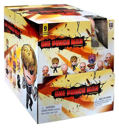 Original Minis Series 1 One Punch Man Mystery Box [24 Packs]