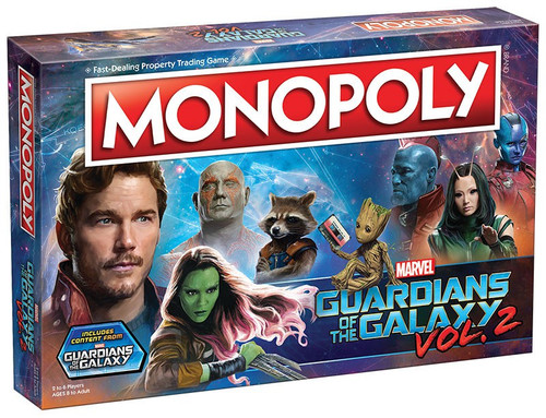 Marvel Guardians of the Galaxy 2 Monopoly