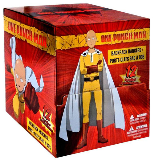 Backpack Hanger Clip Ons One Punch Man Mystery Box [24 Packs]