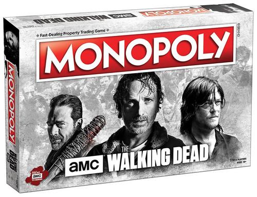The Walking Dead AMC TV Monopoly