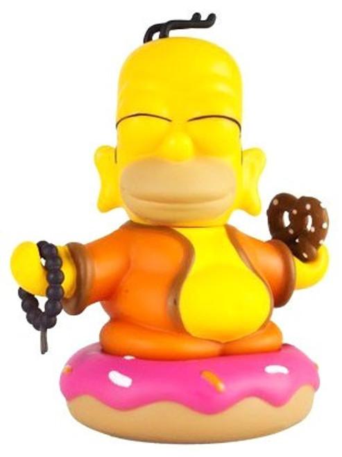 The Simpsons Homer Buddha 3-Inch Collectible Vinyl Art Figure