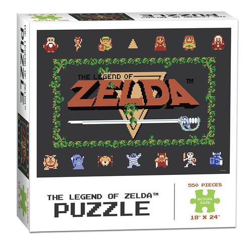 Legend of Zelda Classic 550 Piece Puzzle