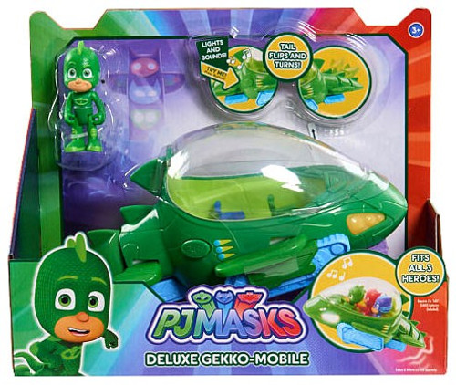 Disney Junior PJ Masks Deluxe Gekko-Mobile Vehicle & Figure