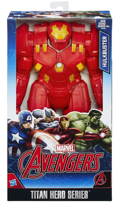 Marvel Avengers Titan Hero Series Hulkbuster Action Figure