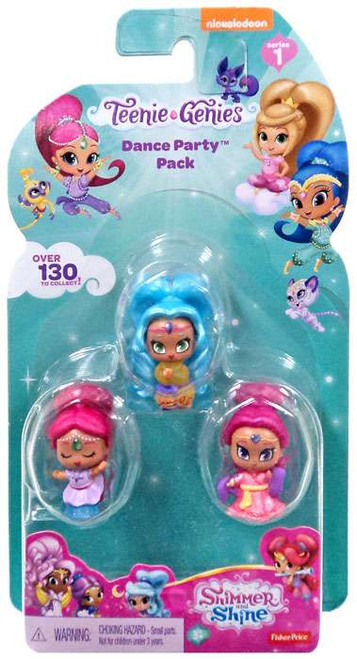 Fisher Price Shimmer & Shine Teenie Genies Series 1 Dance Party 3-Pack