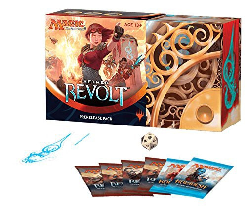 MtG Trading Card Game Aether Revolt Pre-Release Pack