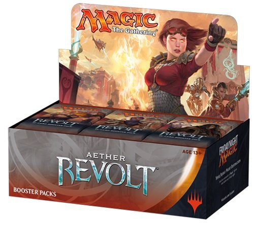 MtG Trading Card Game Aether Revolt Russian Booster Box [36 packs]