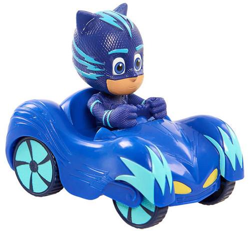 Disney Junior PJ Masks Wheelie Catboy in Cat-Car Figure
