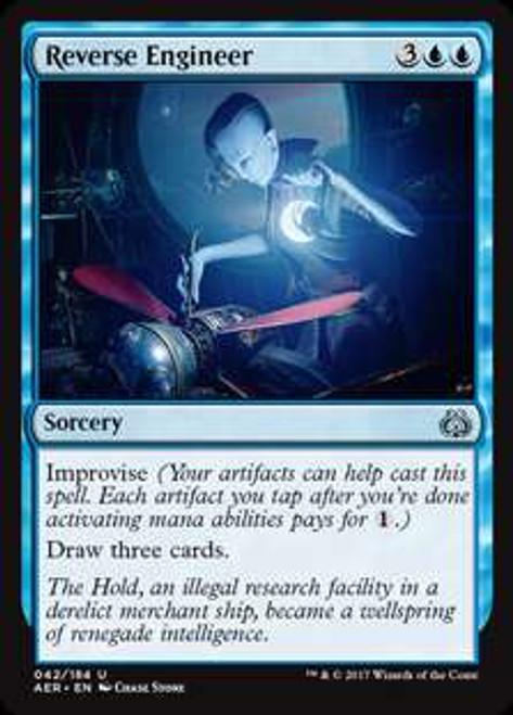 MtG Aether Revolt Uncommon Reverse Engineer #42